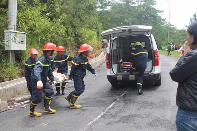 Tai nạn thảm khốc trên đèo Prenn: Do mất phanh?-2