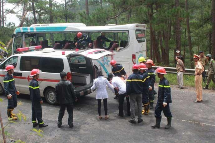 Tai nạn thảm khốc trên đèo Prenn: Do mất phanh?-3