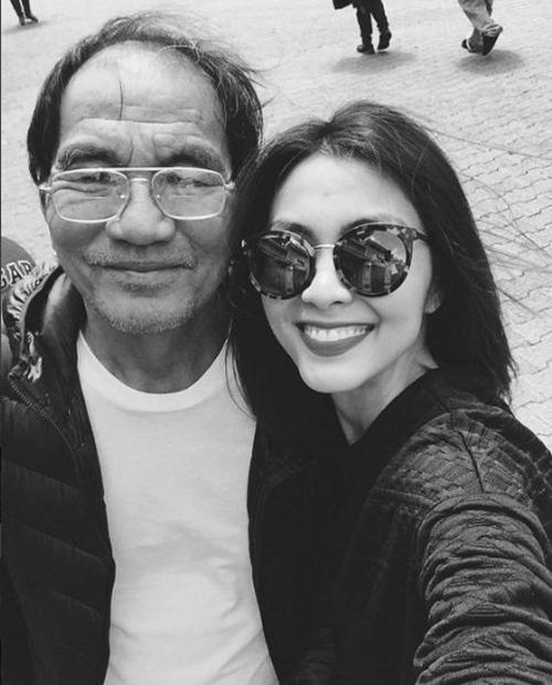 Ông xã Hà Tăng bế con trai thu hút 'vạn người mê' trên mạng xã hội-2