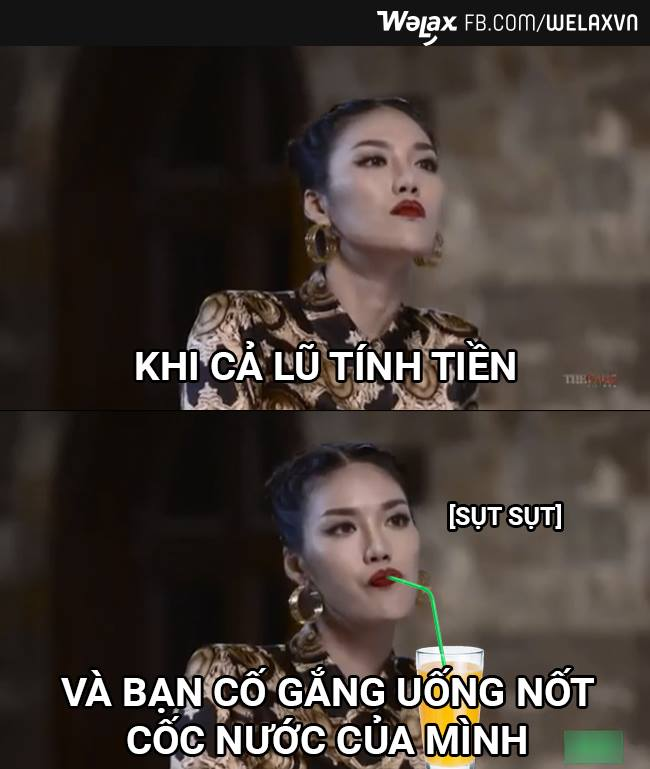 cuoi te ghe voi anh che bieu cam kho do cua lan khue - 4