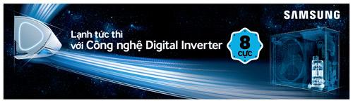 may dieu hoa  cong nghe digital inverter may nen 8 cuc len ngoi - 1