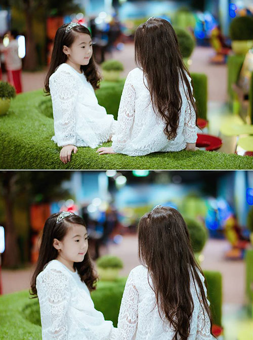 "don tim voi 2 co be hotgirl ha noi chan dai ""khong doi tuoi"" - 18"