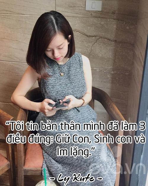 dau can co chong, ly kute van hanh phuc khi mot minh nuoi con! - 4
