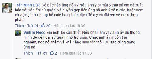 """ong tay """"chan xe"""" o to xin lau kinh xon xao ha noi - 3"""