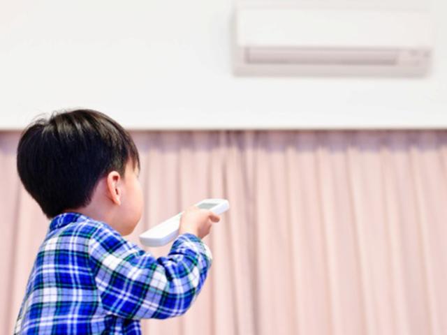 Trẻ em, điều hòa