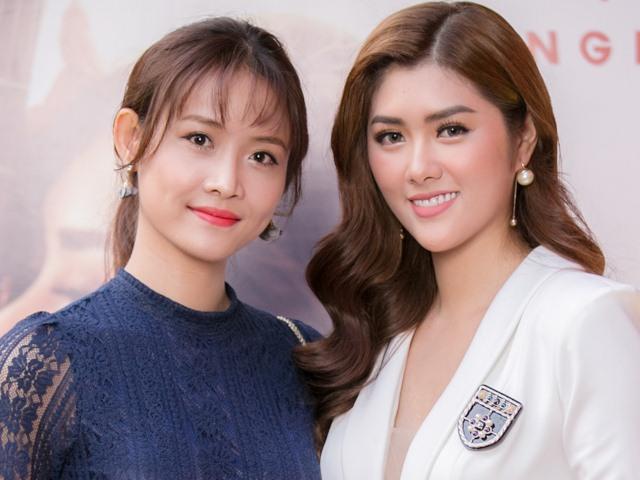 Trương Mỹ Nhân, Milan Phạm và dàn sao The Face gợi cảm đến chúc mừng HH Huỳnh Tiên
