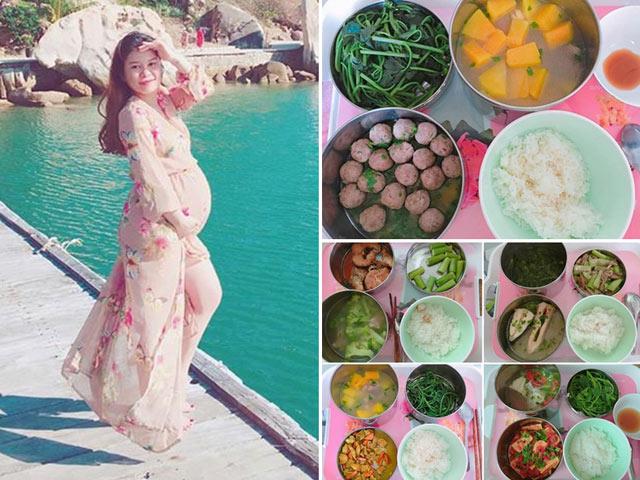 Loạt mâm cơm ở cữ toàn món ngon mẹ chồng nấu cho con dâu khiến ai cũng thèm