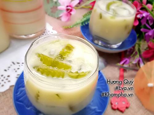 Nhâm nhi sữa đậu xanh thơm nức kèm thứ này vừa ngon lại vui miệng, ai cũng đòi thử ngay - hình ảnh 5