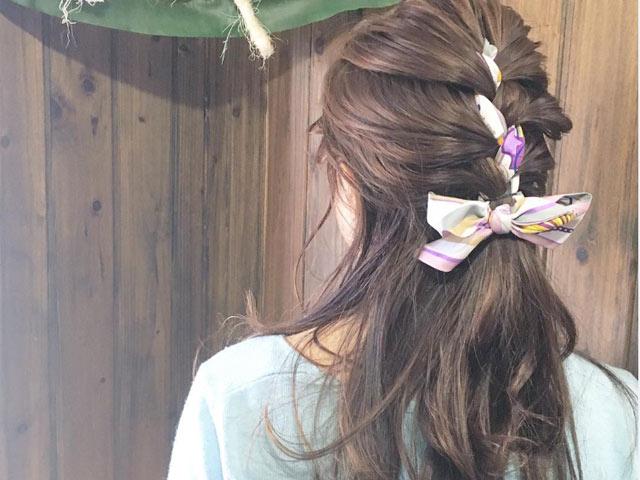 Hè đến, buộc tóc kiểu này thì còn gì dễ thương bằng!