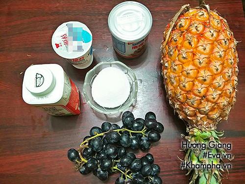 Cách làm sữa chua uống vị hoa quả mát lạnh ngày hè - 1