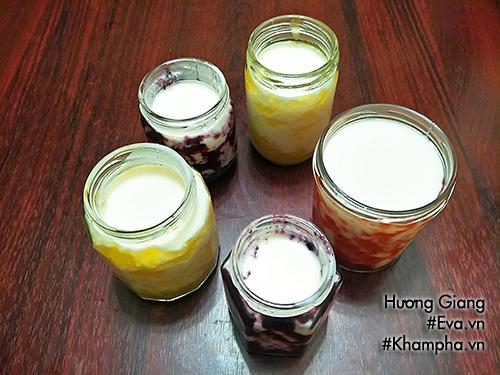 Cách làm sữa chua uống vị hoa quả mát lạnh ngày hè - 8
