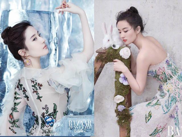 Những chiếc váy đẹp xuyên tim của Lưu Diệc Phi