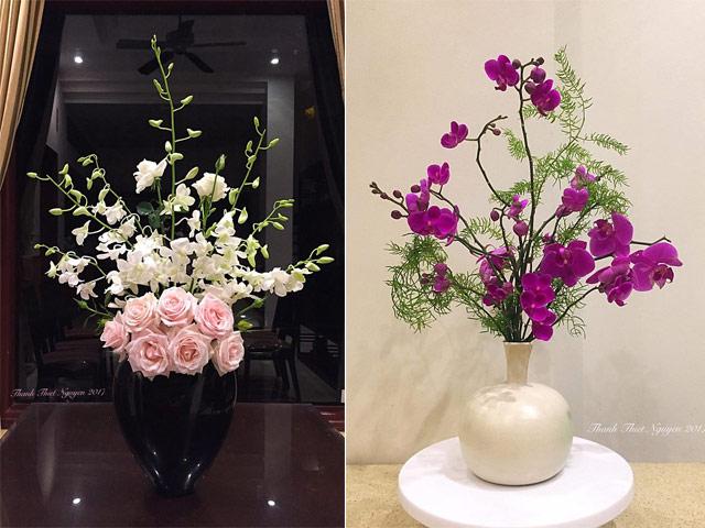 Muôn kiểu cắm hoa đẹp mê mẩn nhân ngày lễ của các gia đình Việt