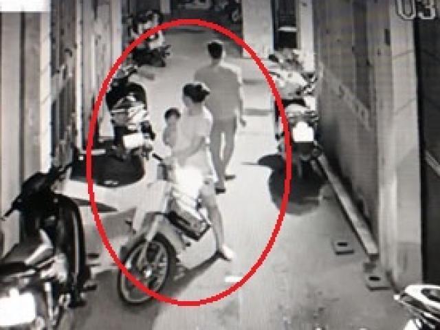 Cặp vợ chồng chở theo con nhỏ đi ăn trộm ở Hà Nội gây phẫn nộ