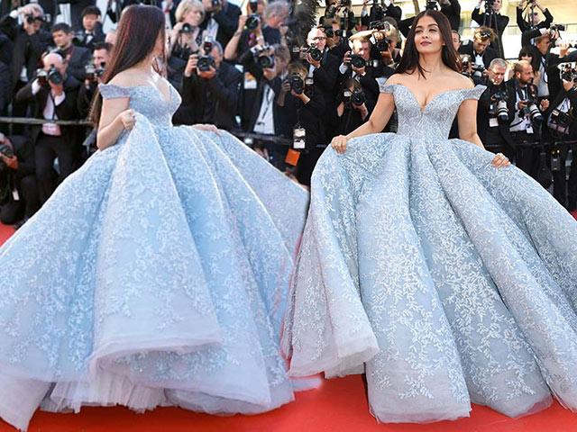 Hoa hậu Thế giới Aishwarya Rai đẹp như công chúa lạc vào vườn cổ tích