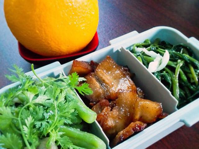 1 tuần đi chợ 1 lần nhưng nàng dâu Việt vẫn có những hộp cơm trưa khiến chị em công sở phát thèm