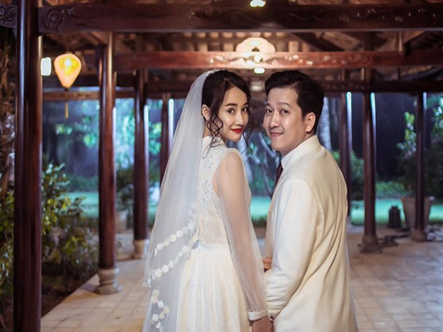 Fan xôn xao khi thấy ảnh cưới của Trường Giang - Nhã Phương