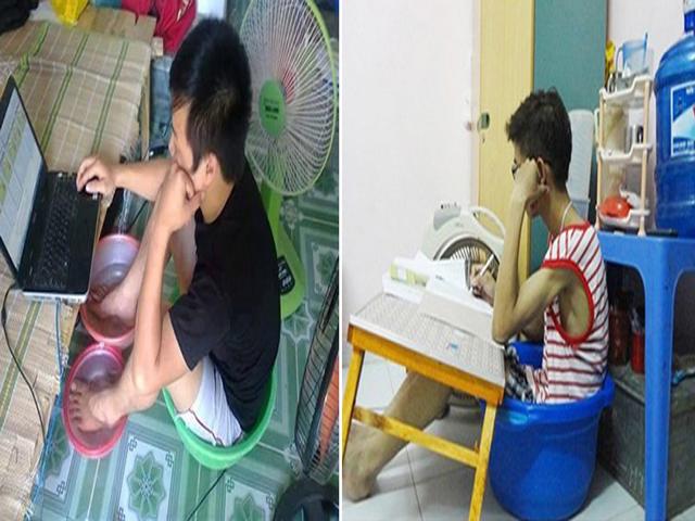 Muôn cách chống nóng bá đạo chỉ có ở Việt Nam