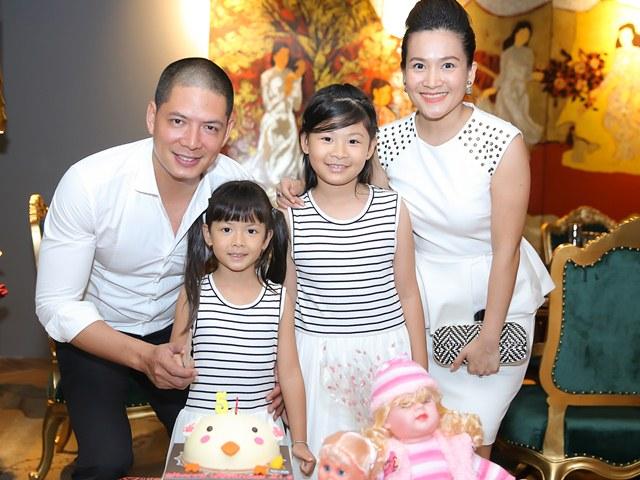 Vợ chồng Bình Minh - Anh Thơ tổ chức sinh nhật hoành tráng cho con gái tròn 5 tuổi