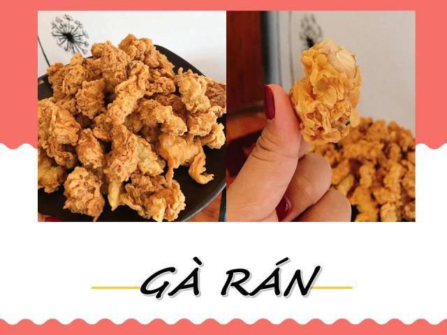 Có gì trong món gà rán kiểu popcorn của 9x Lào Cai lại có thể hút 3 nghìn like?
