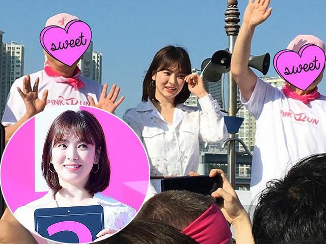 Cứ nghĩ ảnh Song Hye Kyo đều được chỉnh sửa khi lên mặt báo cho đến khi ngắm bản gốc