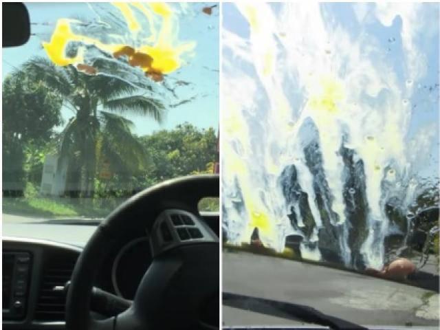Thực hư tin đồn: Ném trứng vào kính ô tô - chiêu thức mới của côn đồ trên cao tốc