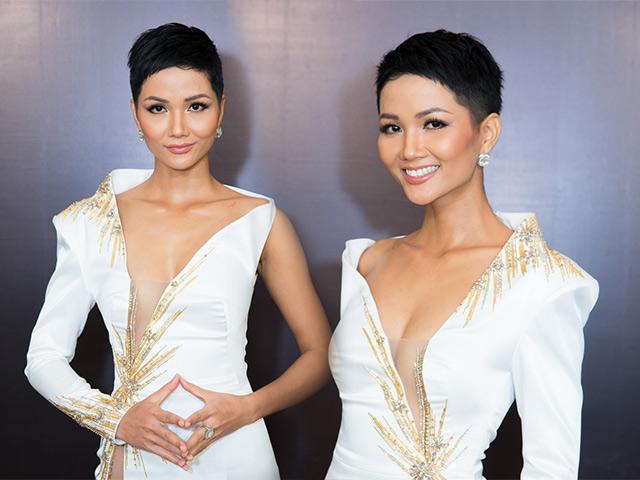 Chia buồn với những fan yêu tóc dài, HH H Hen Niê mới vừa cắt tóc ngắn hơn nữa nhé!