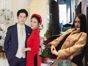 Nghi vấn Mai Hồ đang mang bầu sau hơn 1 tháng đính hôn với chồng Việt kiều