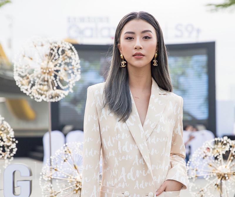 Quỳnh Anh Shyn là nàng hot girl rấtchịu khó thay đổi kiểu tóc.