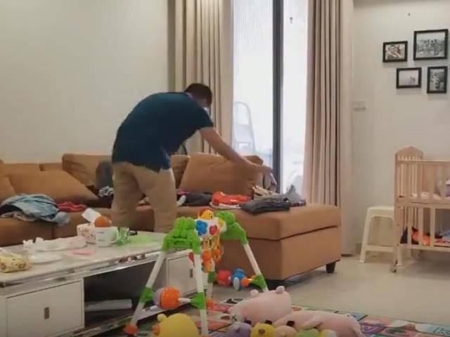 Vợ mắng vì lười việc nhà, ông chồng quốc dân quay ngay clip dọn nhà 3 tiếng làm bằng chứng