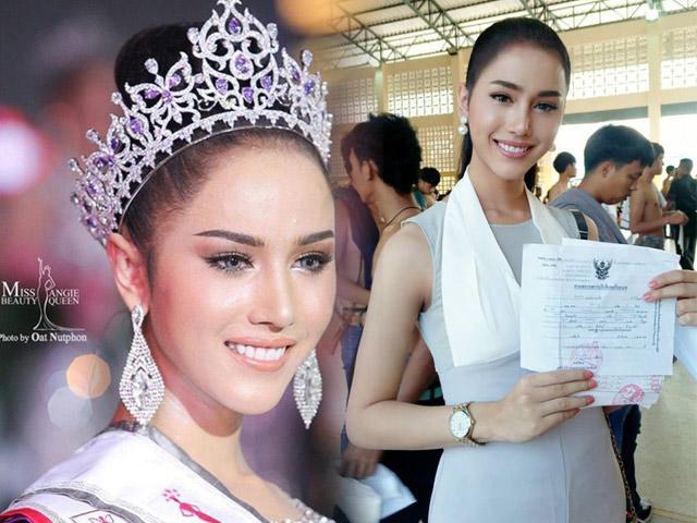 Fans tan chảy vì Hoa hậu chuyển giới xinh như tiên nữ đi đăng ký nghĩa vụ quân sự