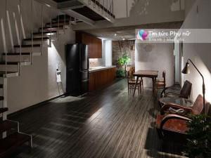 """Có một ngôi nhà chỉ 38m² hiện đại nhưng thấm đầy truyền thống lấy cảm hứng từ """"miền ký ức"""""""
