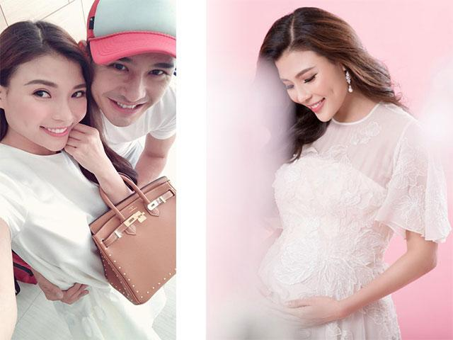 Thuý Diễm xác nhận đang mang bầu sau 2 năm kết hôn cùng Lương Thế Thành