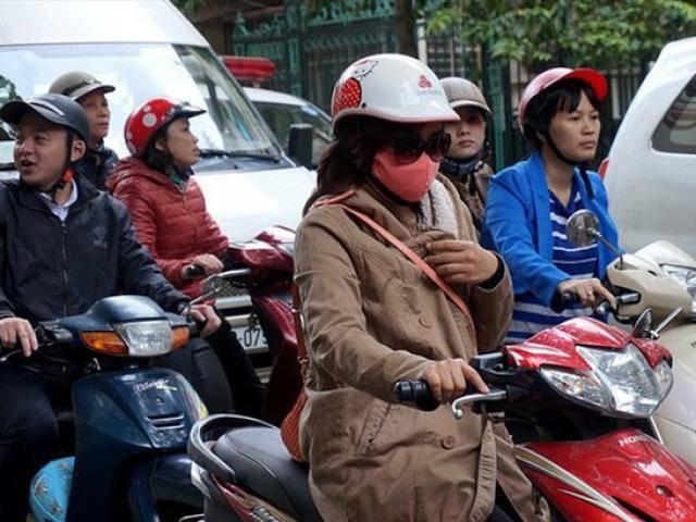 Sáng 5/4 nhiệt độ Hà Nội đột ngột giảm sâu, trời chuyển mưa rét