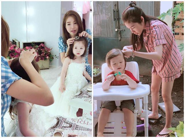 Mẹ 2 con Elly Trần chứng minh điểm 10 về cách nuôi dạy con ngoan