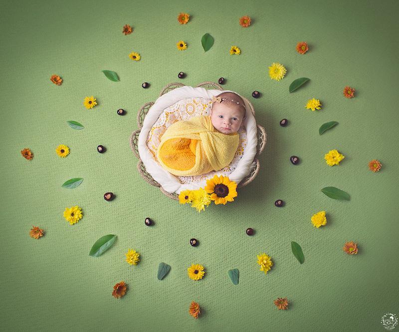 Trong lúc chụp ảnh, các bé cũng có thể tự thể hiện những cảm xúc riêng.