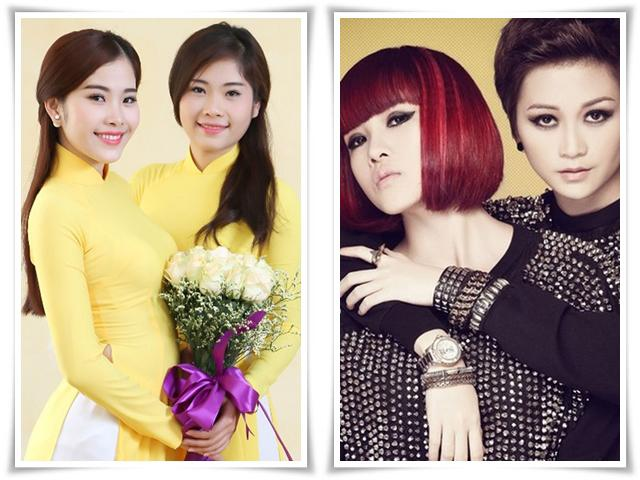 2 cặp chị em nổi tiếng showbiz Việt: Đã đẹp cả đôi, lùm xùm tình ái cũng phải cả chùm