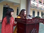 Tin tức - Lột áo nữ sinh đánh ghen do hiểu nhầm, chị dâu và em chồng xin lỗi trước 1.800 học sinh