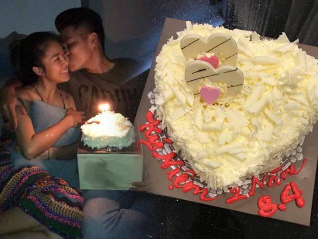 Trung Kiên gửi tới Lê Phương những lời ngọt ngào kỷ niệm 2 năm hẹn hò