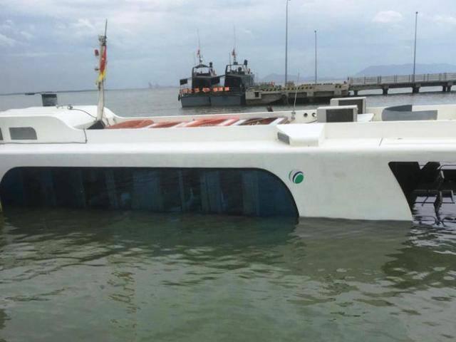 Hé lộ nguyên nhân tàu cao tốc chở 42 hành khách bị chìm ở TP.HCM