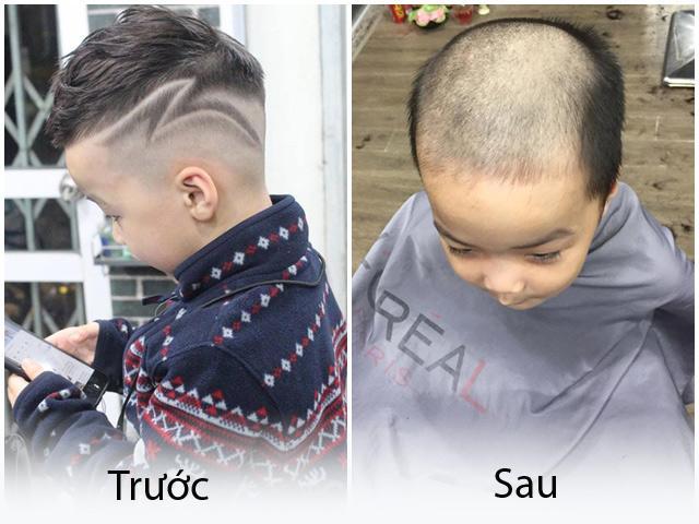 Có bố là thợ cắt tóc mà cậu bé từ đẹp như trai Hàn giờ chẳng khác gì ông hói