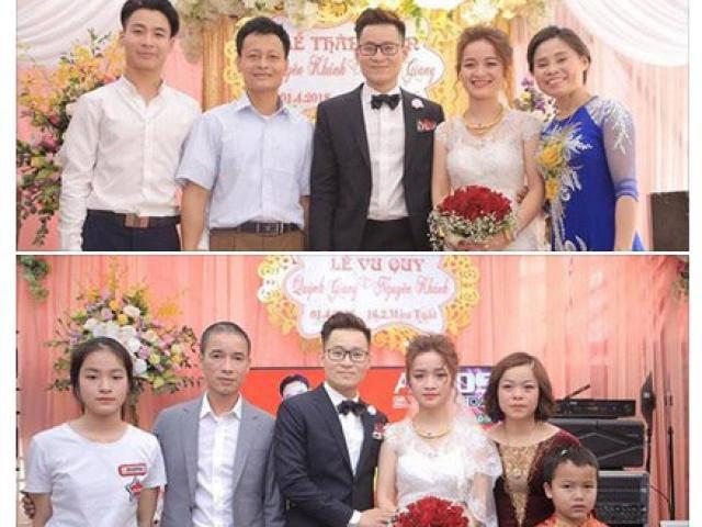 Một đám cưới – hai tâm trạng, bức ảnh khiến người xem miệng cười mà khóe mắt cay cay