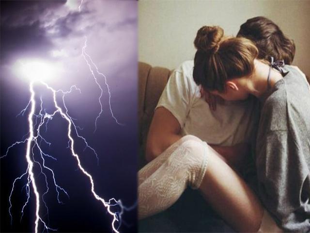 Không nên yêu khi... trời mưa gió, sấm sét?