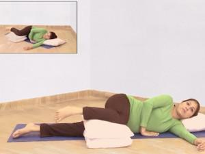 """Yoga cho bà bầu: """"Nghỉ ngơi"""" cũng là một động tác cực hữu ích"""