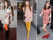 Thời trang - Tròn mắt trước những sở thích đi tất của các tín đồ thời trang
