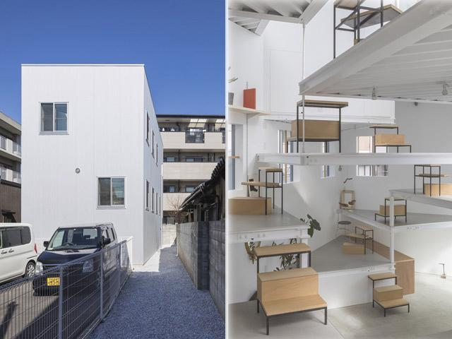 Căn nhà nhìn ngoài chỉ 2 tầng, bên trong có đến... 13 tầng, ai nhìn cũng thốt lên: Quá đẹp!