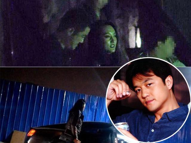 Ngôi sao 24/7: Bắt gặp Ông bố quốc dân CBiz Lý Á Bằng để gái lạ ngồi lên đùi