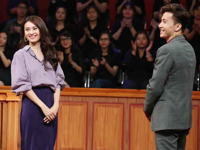 Ngay trước mặt khán giả, người yêu tin đồn của Lan Ngọc xác nhận không để cô bơ vơ
