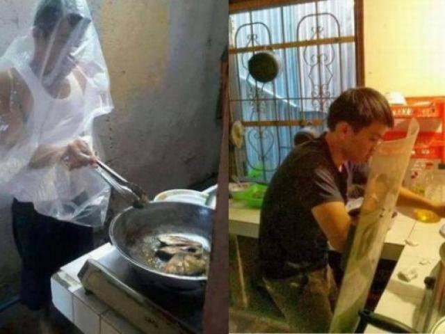 Tội ác chính là việc đồng ý cho đàn ông vào bếp
