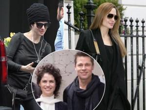 Ngôi sao 24/7: Không ngờ bạn gái mới của Brad Pitt có nét hao hao giống Angelina Jolie